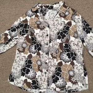 Very Nice Women's Plus Size 1X Blouse (East 5th)